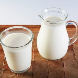 молоко домашнее